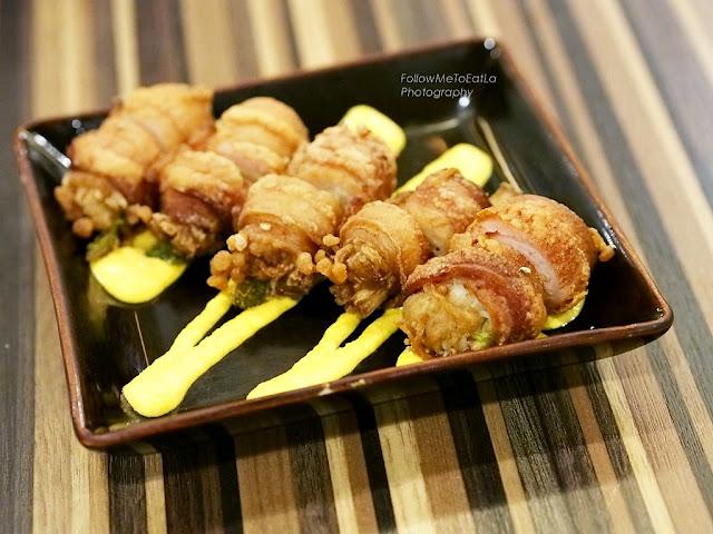 Fried Bacon Rolls