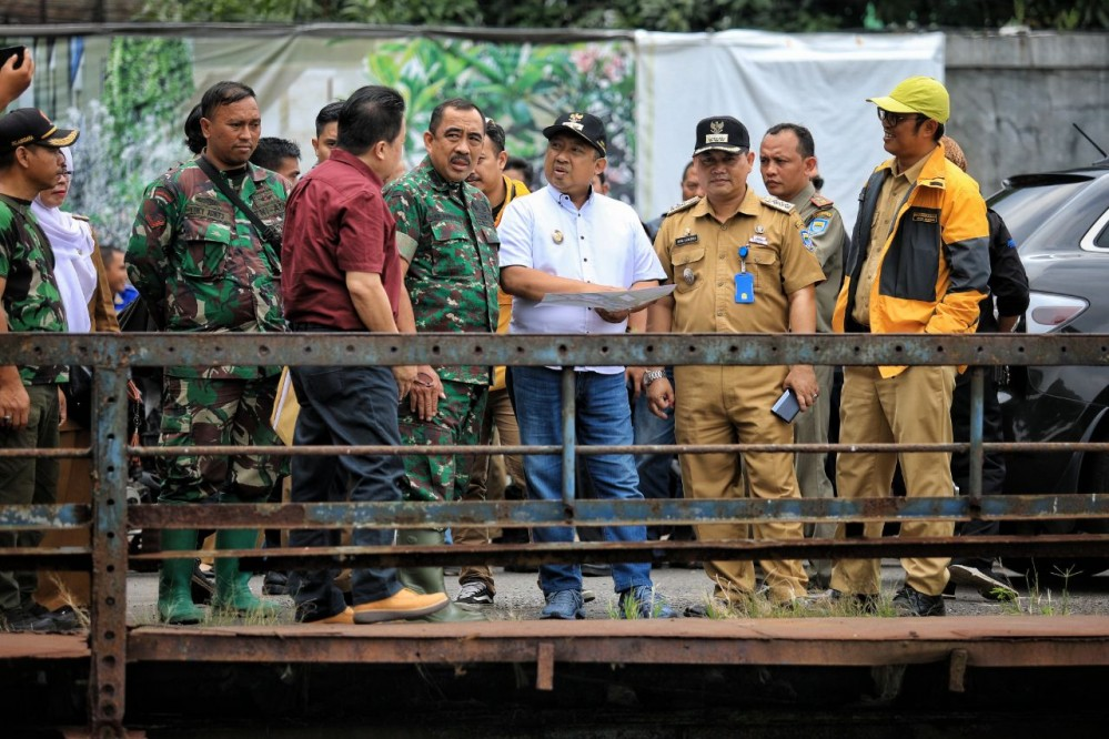 Lagi, Pemkot Bandung Bangun Kolam Retensi untuk Aliran Sungai Citepus