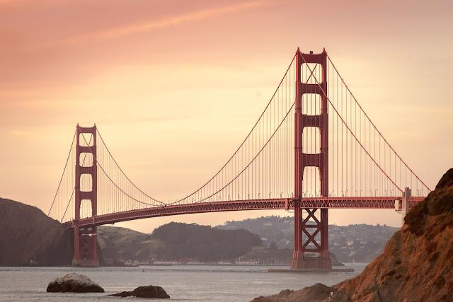 Prisnivå USA - Golden Gate Bridge