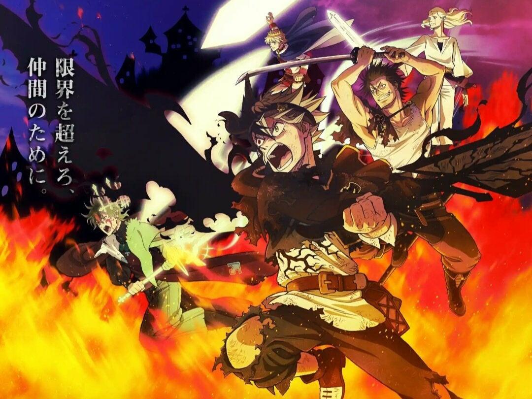 Black Clover Asta, Yuno, Yami, Lumiere Vs Devil cool wallpaper