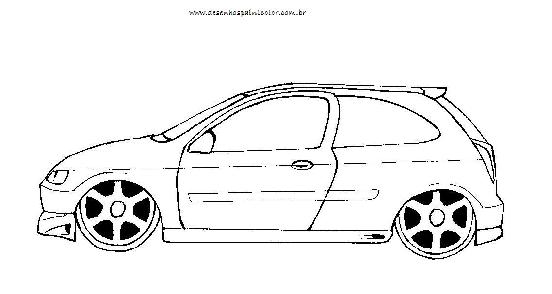Desenhos De Carros Rebaixados E Com Som