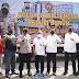 Gelar Aksi Mayday, Buruh Di Kota Semarang Mendapatkan 1000 Paket Sembako Dari Kapolda Jateng