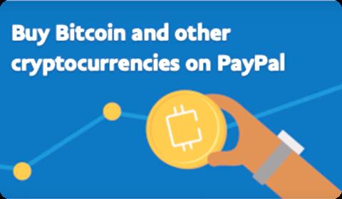 Cryptomonnaies sur PayPal