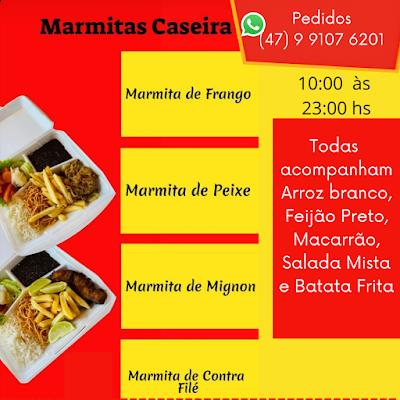 delivery de marmitas em itapema