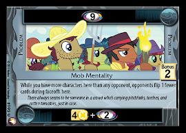 My Little Pony Mob Mentality Equestrian Odysseys CCG Card
