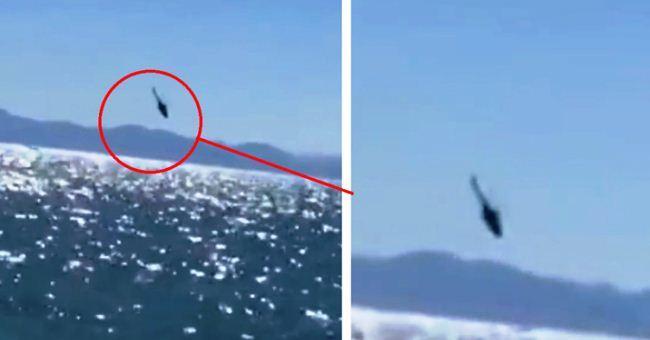 Helikopter Mi-17 Meksiko jatuh di laut