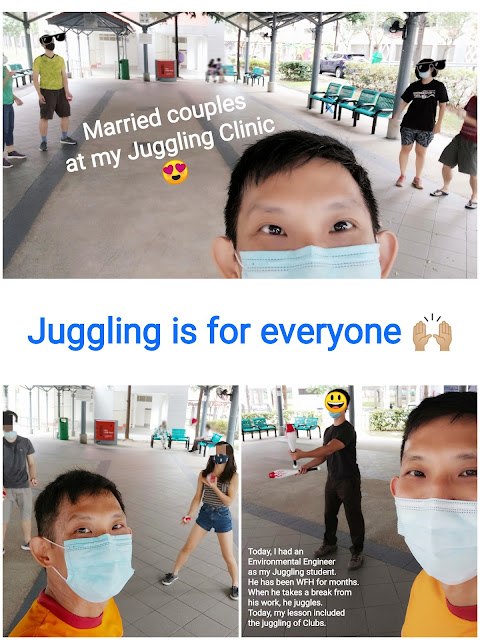 Learn to juggle in Singapore