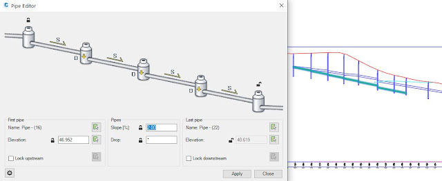 Autodesk Civil 3D Pipe Editor