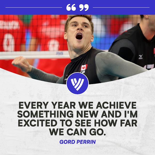 Gord Perrin giúp bóng chuyền Canada trỗi dậy sau 24 năm