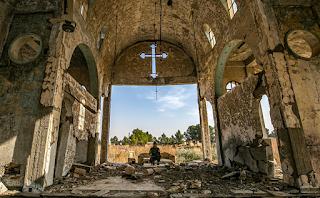 عائلات مسيحية آشورية في شمال شرق سوريا تواجه قلقًا بشأن مصيرها مع التقدم التركي