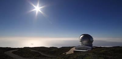 telescopio mas grande del mundo El Gran Telescopio de canarias