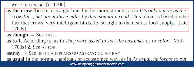 Arti As the Crow Flies