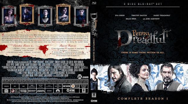 Capa Bluray Penny Dreadful Primeira Temporada Completa