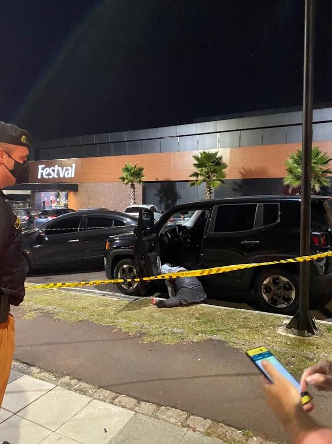 Major da Corregedoria da PMPR reage e mata marginal que tentou roubar seu veículo na noite desta sexta, 21