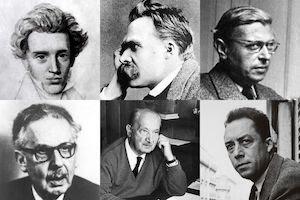 أبرز الفلاسفة الوجوديين