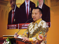Gubernur Lampung Sampaikan Kajian Akademik Pada Rakernas Adeksi di NTB