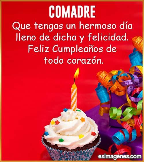imágenes de feliz cumpleaños para comadre