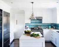 Kitchen backsplash and nifty white kitchen cabinet Scandinavian kitchen style ideas