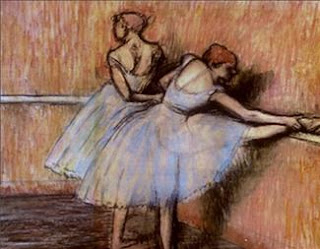 Zoe narrates an animation of a ballet painting by Edgar Degas. Sesame Street Episode 4321 Lifting Snuffy season 43