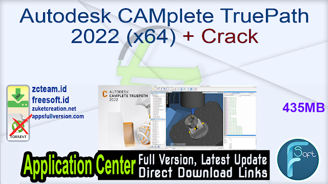 Autodesk CAMplete TruePath 2022 (x64) + Crack_ ZcTeam.id