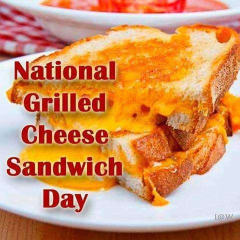 National Grilled Cheese Sandwich Day Wishes Images download