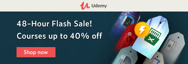 *48-Hour Flash Sale! Courses up to 40% off