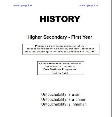History-Class-11-Tamil-nadu-Board