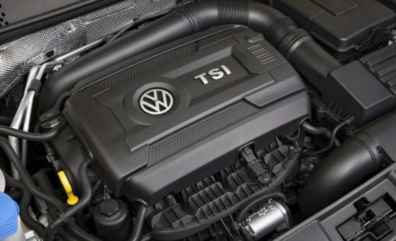 2018 VW Beetle Engine