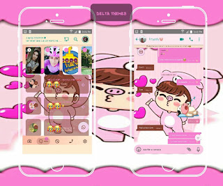 Cute Boy Theme For YOWhatsApp & Fouad WhatsApp By Ale