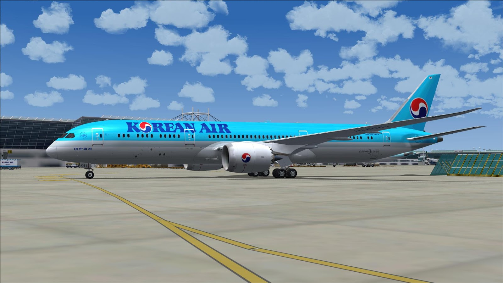 FSRepainter: TDS 787-9 Korean Air Lines HL8081