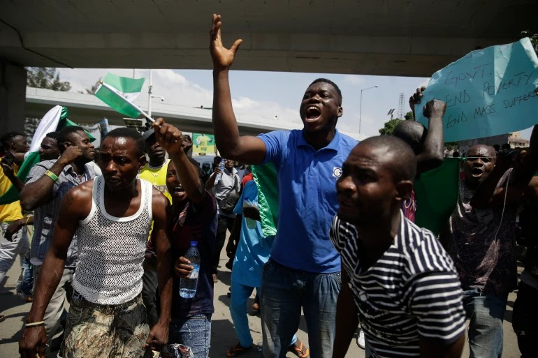 Heartbreaking As Nigeria President Warns Protesters; Fails To Address Shooting!