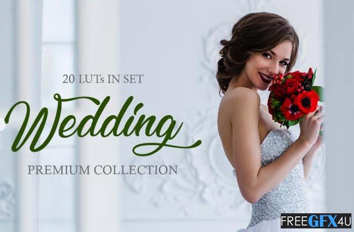 20 Wedding LUTs - Fixthephoto