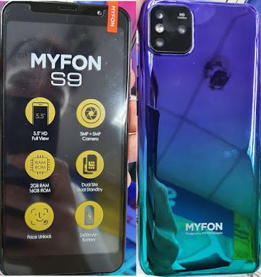MYFON S9 FLASH FILE