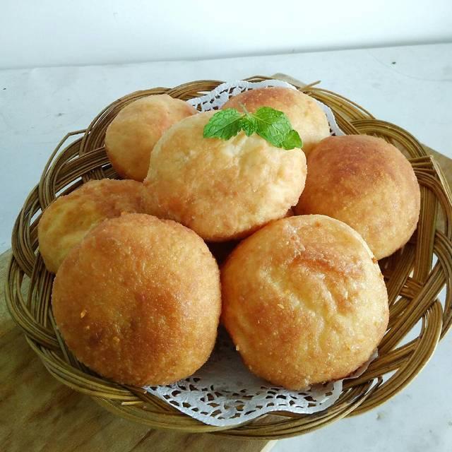 Roti Goreng Isi Kacang Hijau Othok Othok By Maccby Resep Aneka Jajan Pasar
