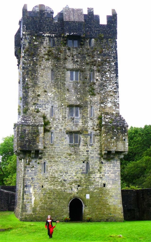 front image of AUGHNANURE CASTLE, Oughterard, Co Galway, Ireland