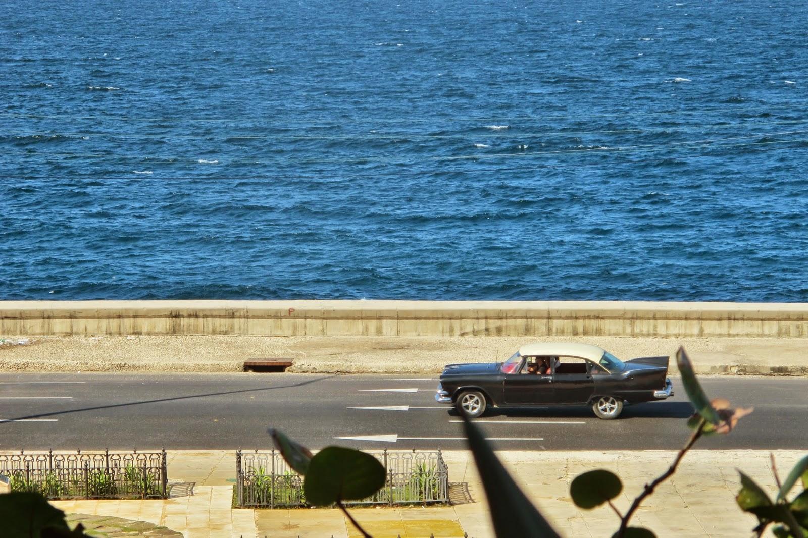 Malecón visto do Hotel Nacional, em Havana