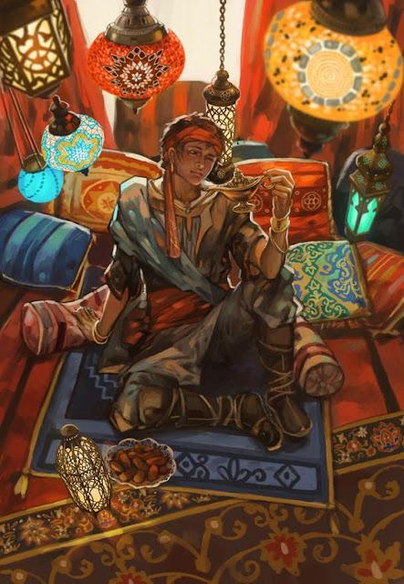 Lecturas de Fantasía - La Rosa del Profeta - Djinn
