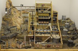 South Pass City mine model