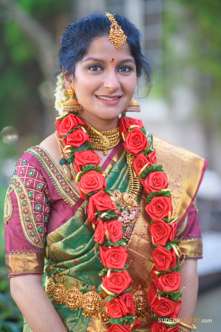 South Asian Indian Wedding Photography Kannada Bride by SudeepStudio.com Ann Arbor Indian Wedding Photographer