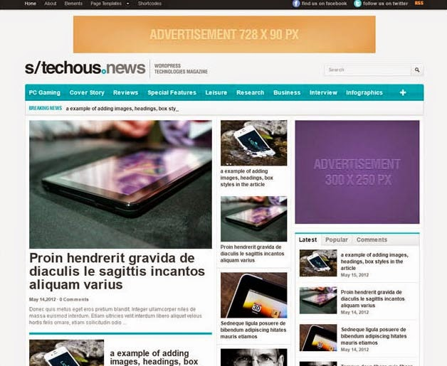 Technology WordPress Theme – TechMag