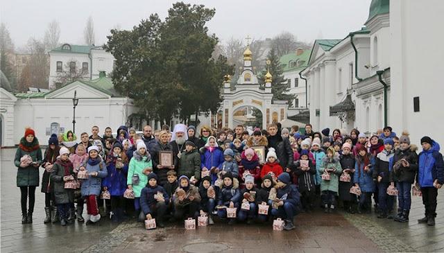 Діти з Донецька здійснили паломництво до Києво-Печерської лаври