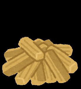 薪と火のイラスト1