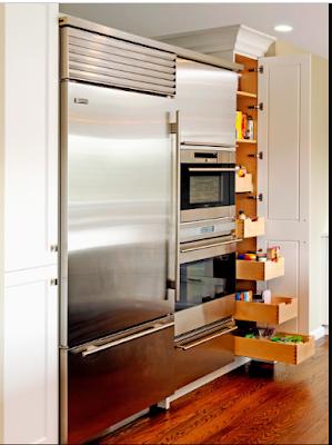 15 Desain Rak Dan Laci Dapur Minimalis Untuk Menyimpan Barang Yang Kreatif Dan Inovatif