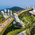 Pesona Jembatan Tangan Dewa Vietnam   Wisata Unik Vietnam