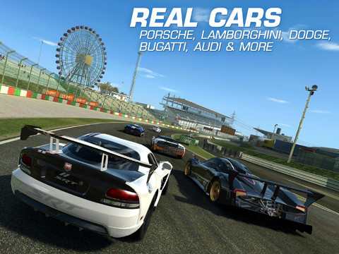 Real Racing 3 - best free racing game for iPad