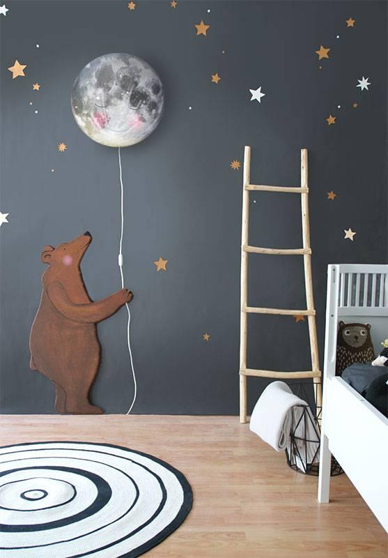 Księżyc - Nocna lampka do pokoju dziecka