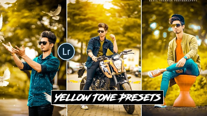 Yellow Tone presets free download|Saha social presets free download