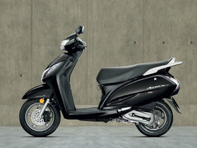 Honda Activa 3G black wallpaper HD