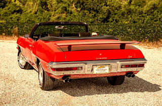 1971 Pontiac LeMans Sport Convertible Rear Top