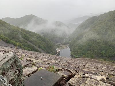 奈良俣ダム 下流側